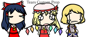 Tears Custom Prop by Scarlet-the-Leafeon