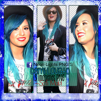 Demi Lovato Candid - Neon Lights PNG'S by SoffMalik