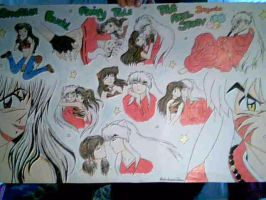 Inuyasha AFFT Poster by MarieJane67777