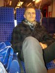Hardi is chilling in the train! :D by Hardii