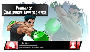 SSB4 Banner: Little Mac by Pixiy
