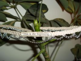 This is the Beginning Necklace by alynn218