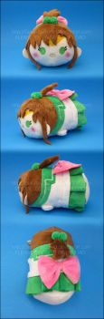 Stacking Plush: Small Sailor Jupiter by Serenity-Sama