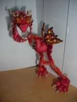 Edan, Dragon Marionette by Celtic-Dragonfly