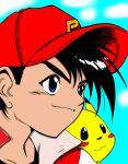 Ash and Pikachu by nightcat17