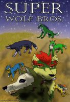 Super Wolf Bros. Front page by readytoride