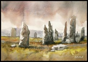 celtic stones by Kegriz