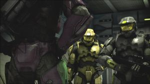 The most awkward moment in RvB ever. by Lopez-The-Heavy