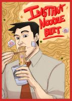 PhoenixWright: Instant Noodles by Crispy-Gypsy