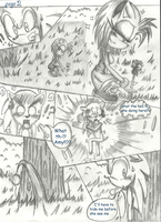 SonAmy Valentine's day Comic: Page 2 by LiaMenietowLove