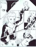 AxelXLarxene Doujinshi page 1 by SonjaFunnell