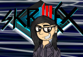 His.Name.Is.Skrillex by MochaTheDog