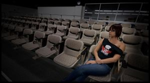Alone in the Auditorium I by imsosxe