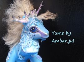 My little pony custom kirin Yume by AmbarJulieta