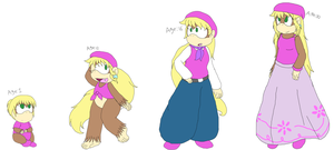 Dixie Age Set by Twin-Cats
