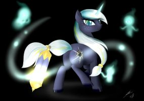 : C : Follow the Lights... by BluDraconoid