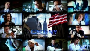 Wallpaper - CSI: New York $1 by Przemyslav