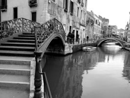 Venice in black and white 3 by KayTeez