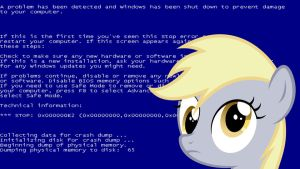 Derpy.EXE Wallpaper by XENGaming