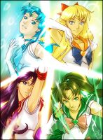 Sailor Senshi Edited by Exemi