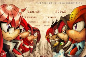 An Epoch of Echidna Encounters by darkspeeds
