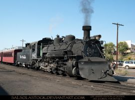 Steam Train 3 by SalsolaStock