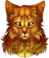[Warrior Cats] Lionblaze by NeCroven