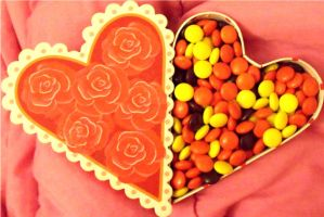 Reeses Pieces by MsJennyAnthem