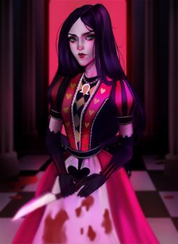 Alice Madness Returns by cosmogirll