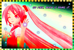 :Miku In a Painting: by MMD-Angel-Nia