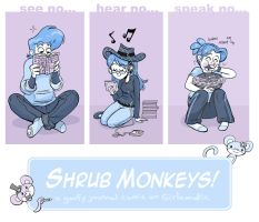 Shrub Monkeys promo for GAM by ktshy