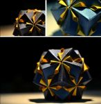 Floral Origami Globe by emiss77