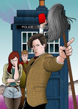 The Eleventh Doctor by MikeMcelwee