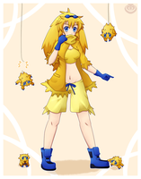 Joltik Gijinka by Merum-SB-BlueOlimar