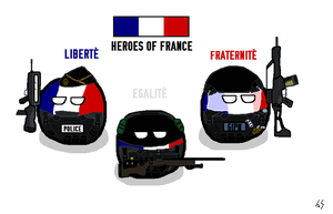 FRANCE Heroes by AiacosSama