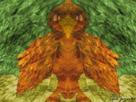 Fractalius Fractalatum Chick by Very-Old-Geezer