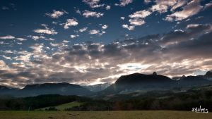 Sunset on Vercors by rdalpes