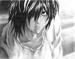L - Death Note by liltiffy107