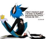 Cait Sith 2D depressed by byona