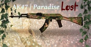 CS:GO Weapon Skin - AK47 | Paradise Lost by xGreatCthulhux