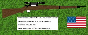 Springfield M1903A4 by pete7868
