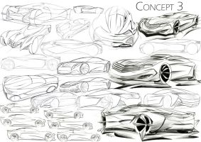 Mercedes Concept Sketches by mickeyd1o1