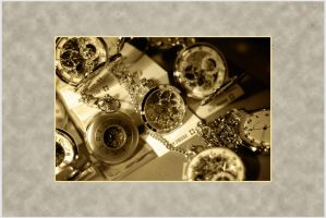 Watches - Sepia by RealUprightMan