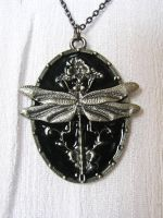 Dragonfly Necklace by HA91