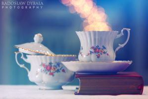 Cup of tea II by Dybcio