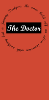 11th Doctor Bookmark by DryuPerry