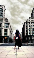 A City Pose by riowahaabphotography