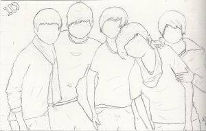 One Direction Art by NicoleFrost