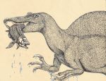 Spinosaurus by TheMacronian