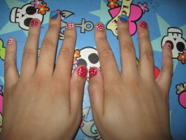 4th of July nails by Acid-Black-Cherry